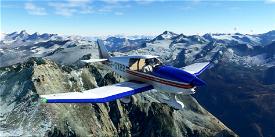 Robin DR400 Aéro-club de Senlis Chantilly Creil F-GXBB Image Flight Simulator 2020