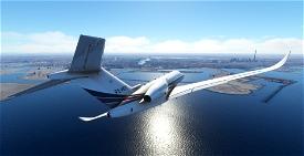 NETJETS Citation Longitude Image Flight Simulator 2020