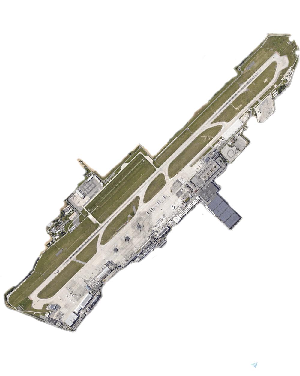 Geneva LSGG Aerial Textures Flight Simulator 2020