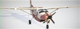 Chadian Air Force Cessna 208 B Image Flight Simulator 2020