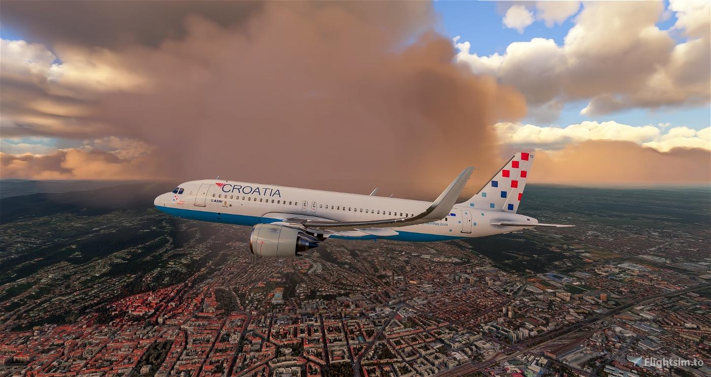Croatia Airlines 9A-CTJ