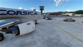 LFKJ Ajaccio  Image Flight Simulator 2020
