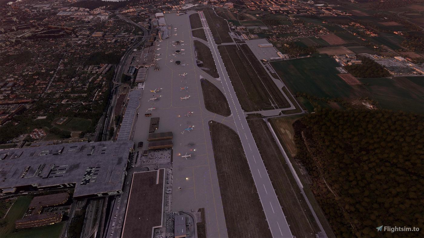 Geneva LSGG Aerial Textures