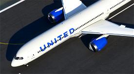 United Airlines B787-10 New colors Image Flight Simulator 2020