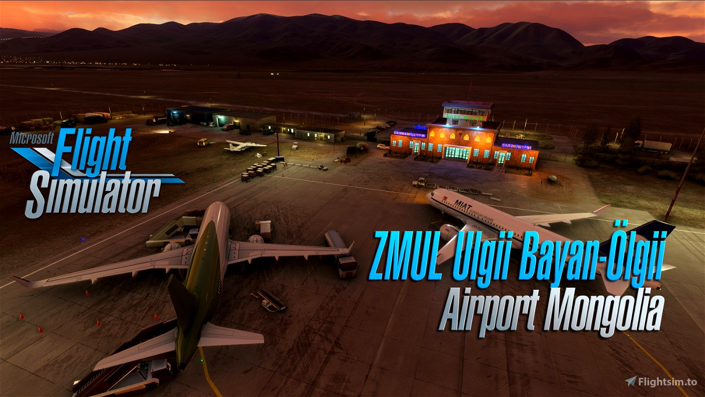 Ölgii Airport ZMUL (Mongolia) v1.1 Flight Simulator 2020