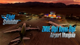 Ölgii Airport ZMUL (Mongolia) v1.1 Image Flight Simulator 2020