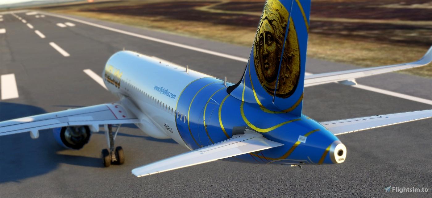 A320neo Helios Airways