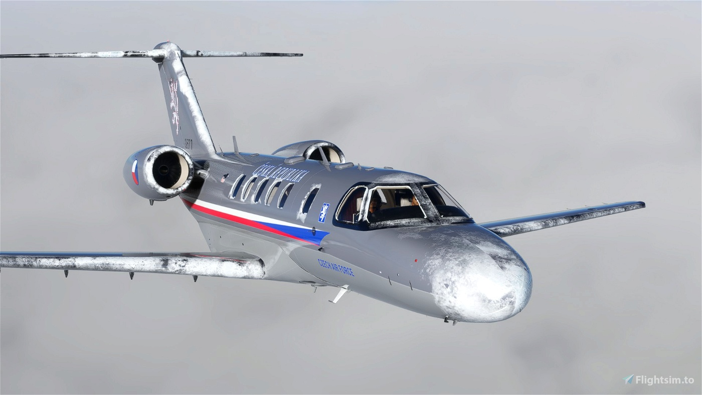 Citation CJ4 Czech Air Force