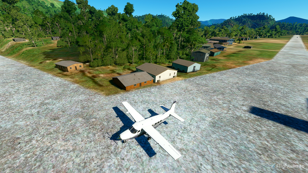 Long Tieng Airbase Flight Simulator 2020