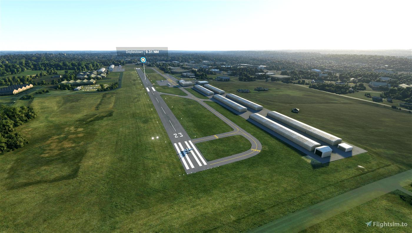 KDYL - Doylestown Airport Flight Simulator 2020