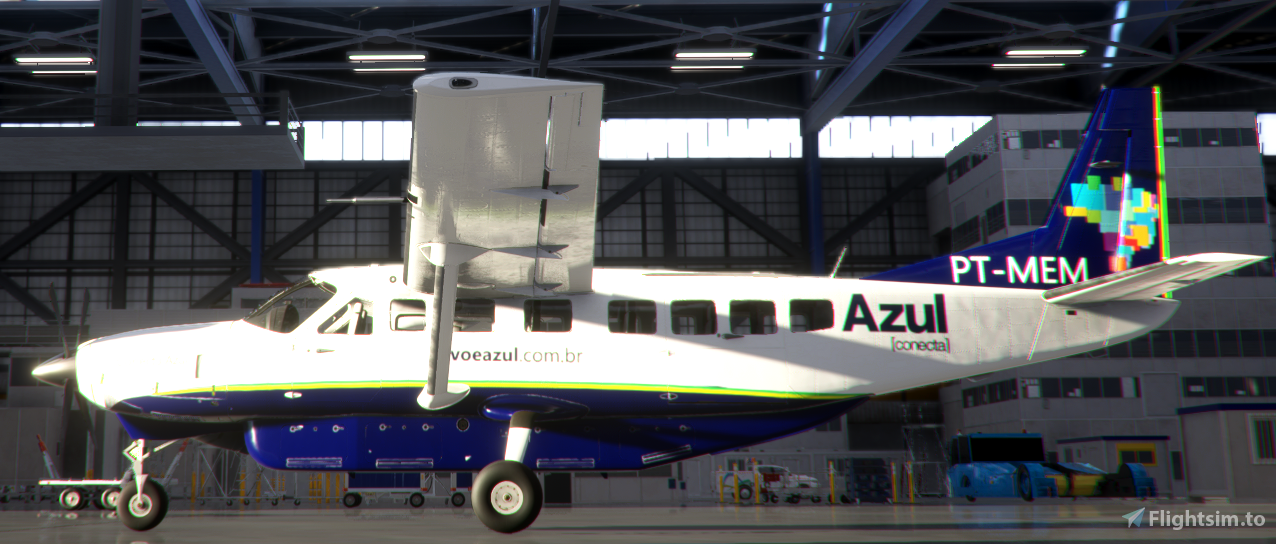Azul Conecta, PT-MEM and PT-MED Flight Simulator 2020