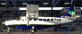 Azul Conecta, PT-MEM and PT-MED Image Flight Simulator 2020