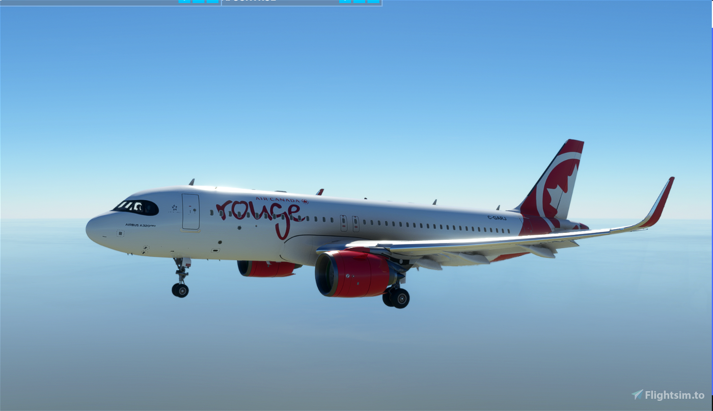 A320Neo Air Canada Rouge -8K Flight Simulator 2020