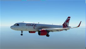 A320Neo Air Canada Rouge -8K Image Flight Simulator 2020