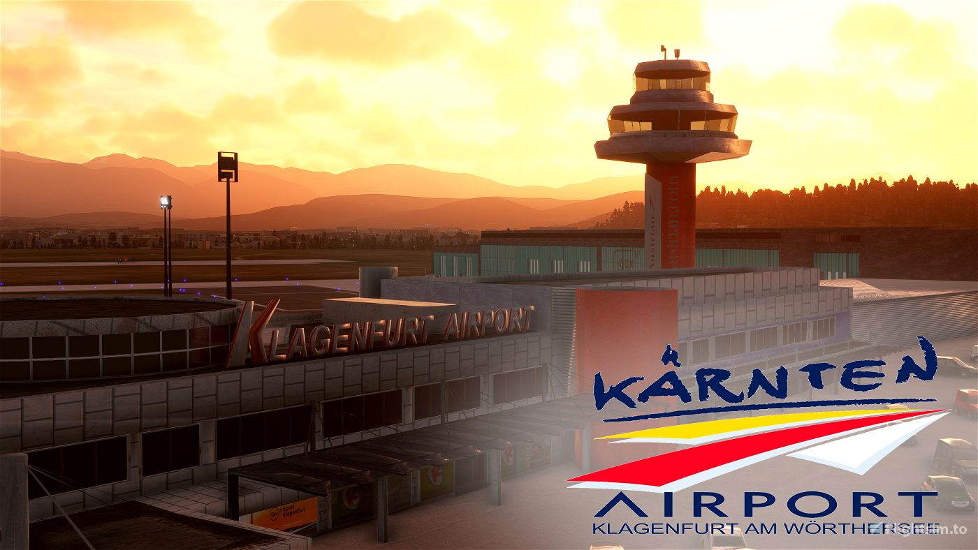 [LOWK] - Klagenfurt Airport, Austria Flight Simulator 2020