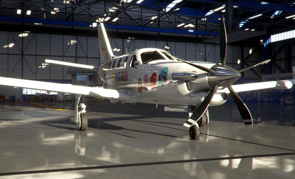 TBM930 Pacman Flight Simulator 2020