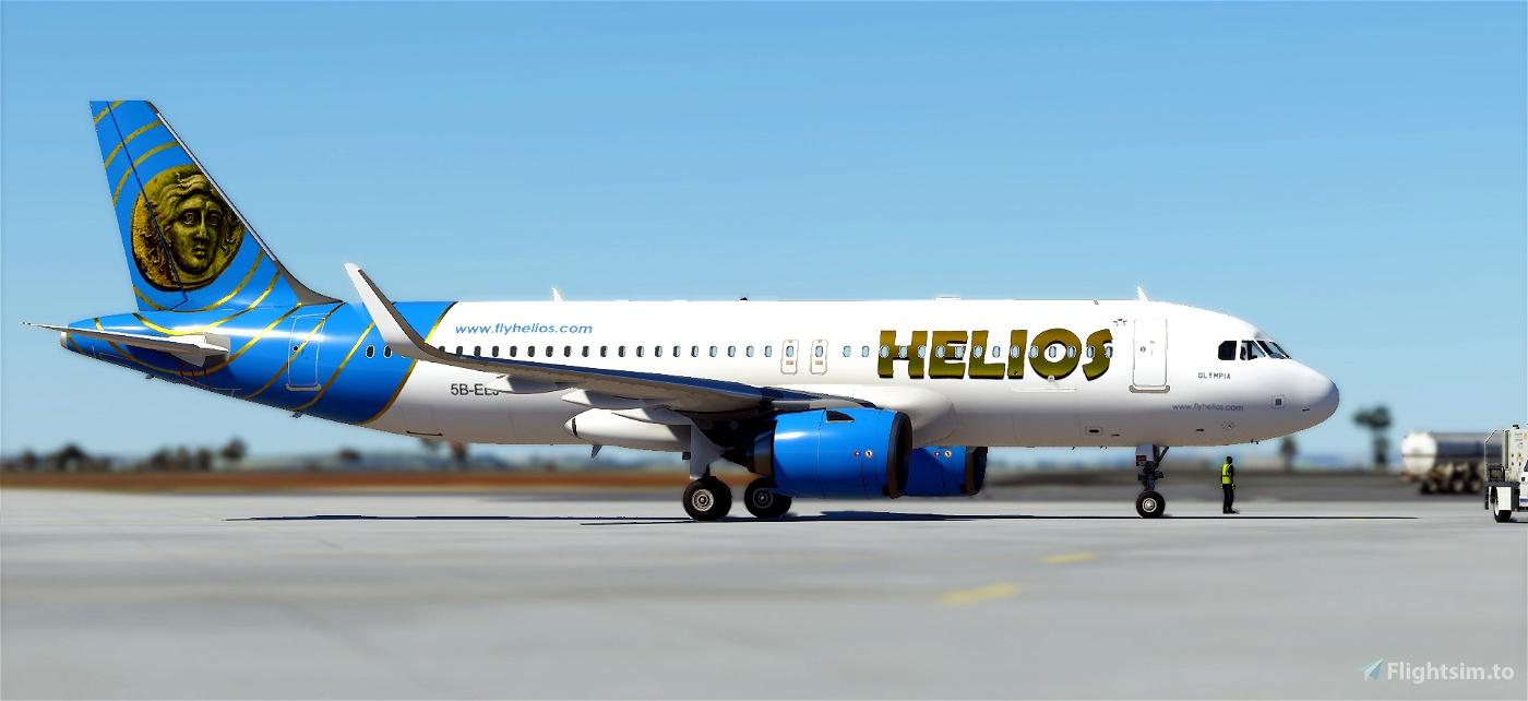 A320neo Helios Airways Flight Simulator 2020