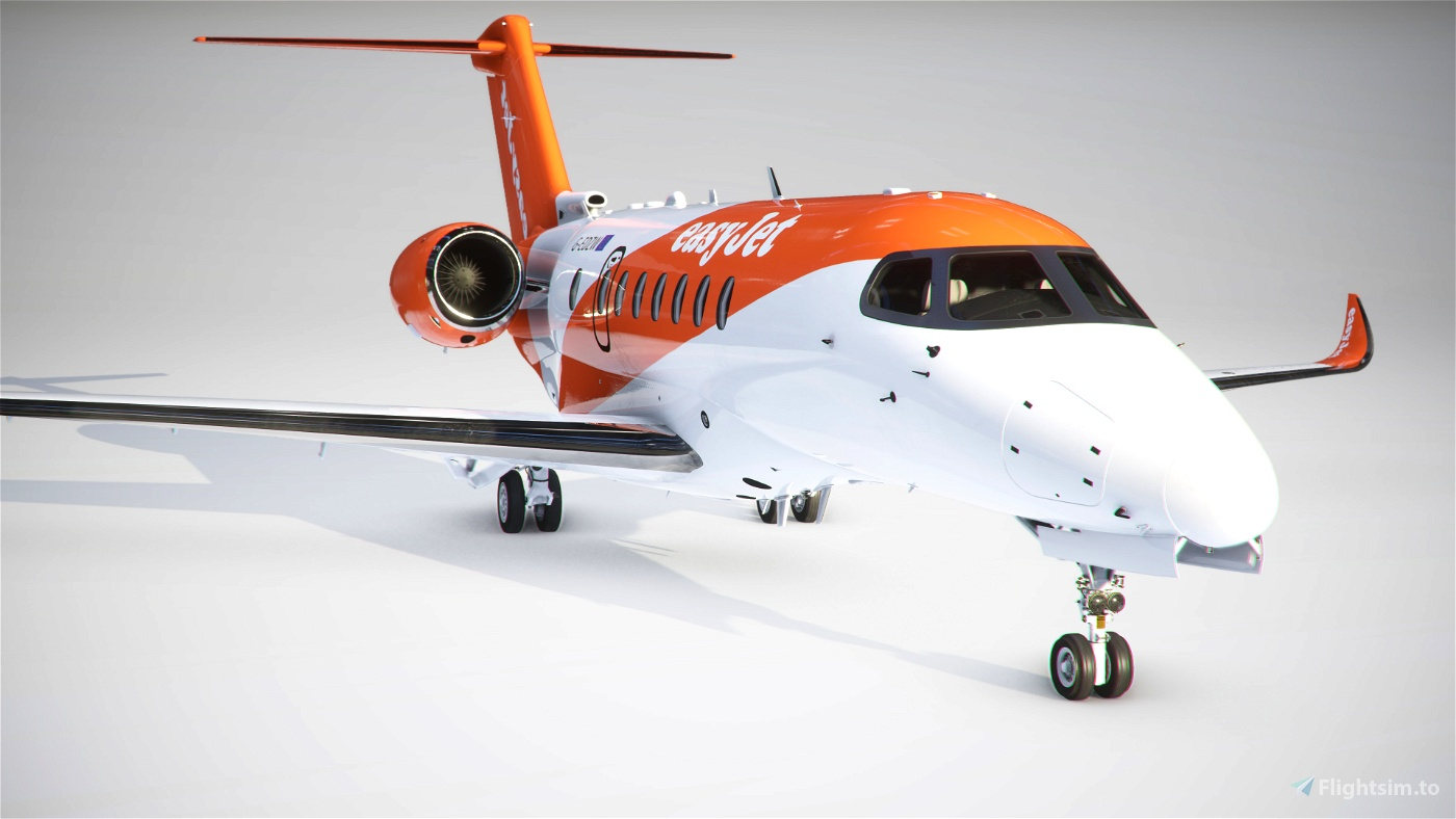 Citation Longitude EasyJet Flight Simulator 2020