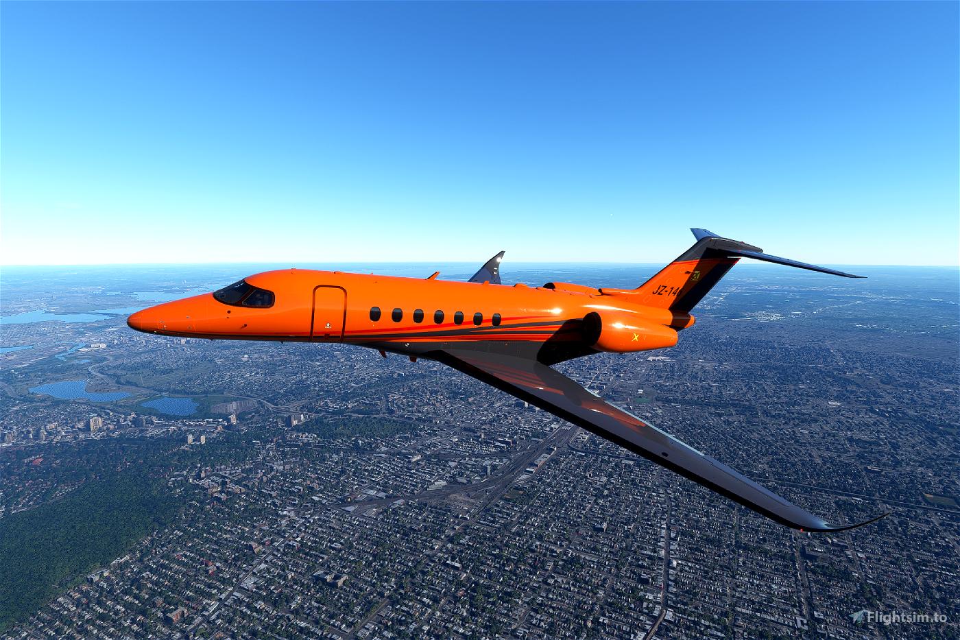 Cessna Citation Longitude X Series (Now in 9 colours!) Flight Simulator 2020