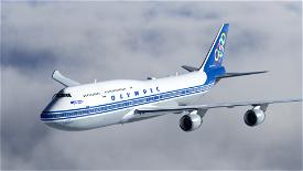 [8K] Olympic Airways (SX-OAB) Image Flight Simulator 2020