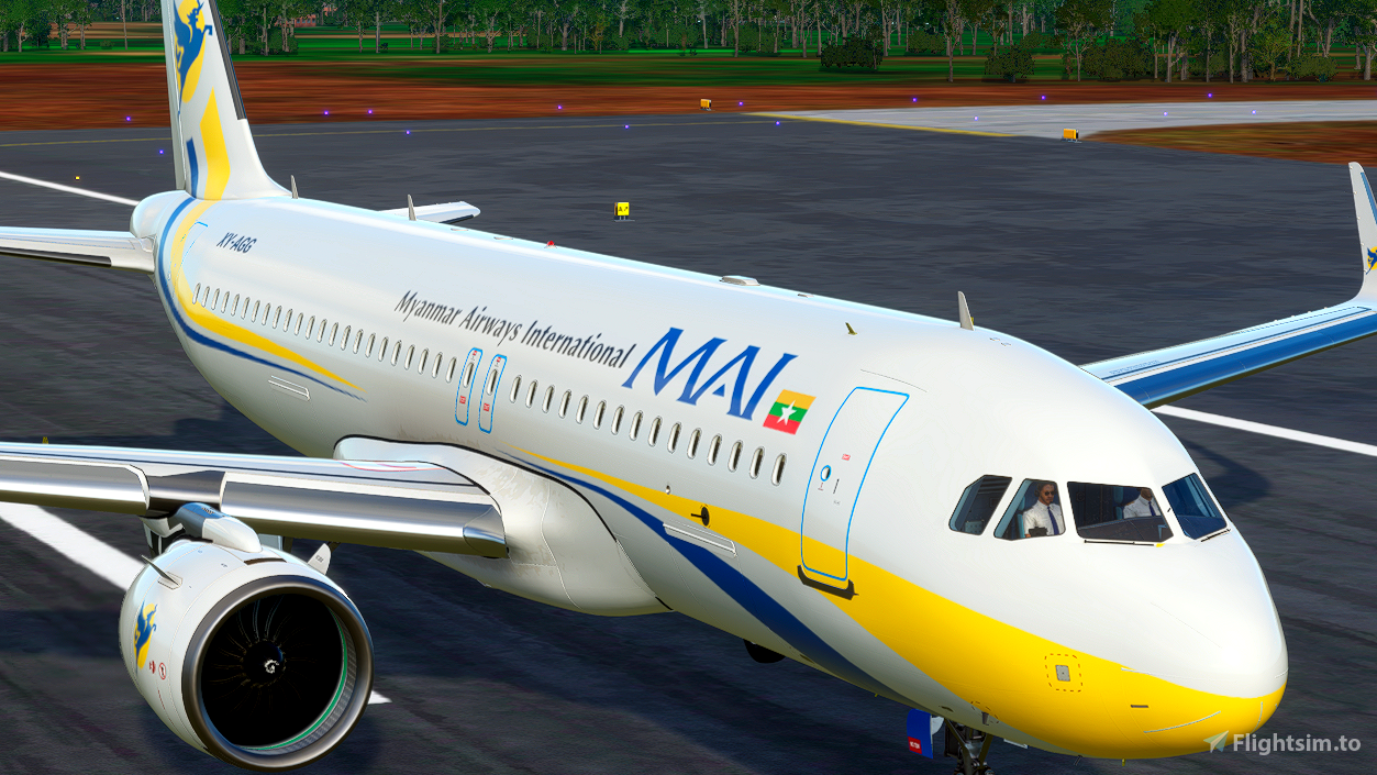 Myanmar Airways International [4K] Flight Simulator 2020