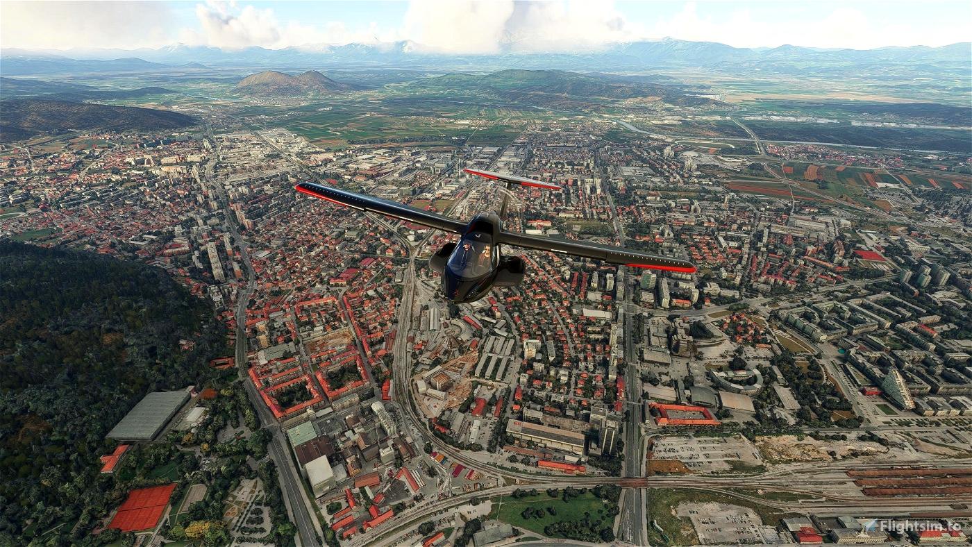 Ljubljana City Flight Simulator 2020