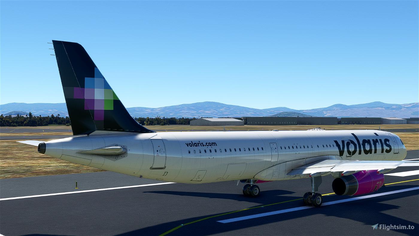 [4K] Volaris A321 livery