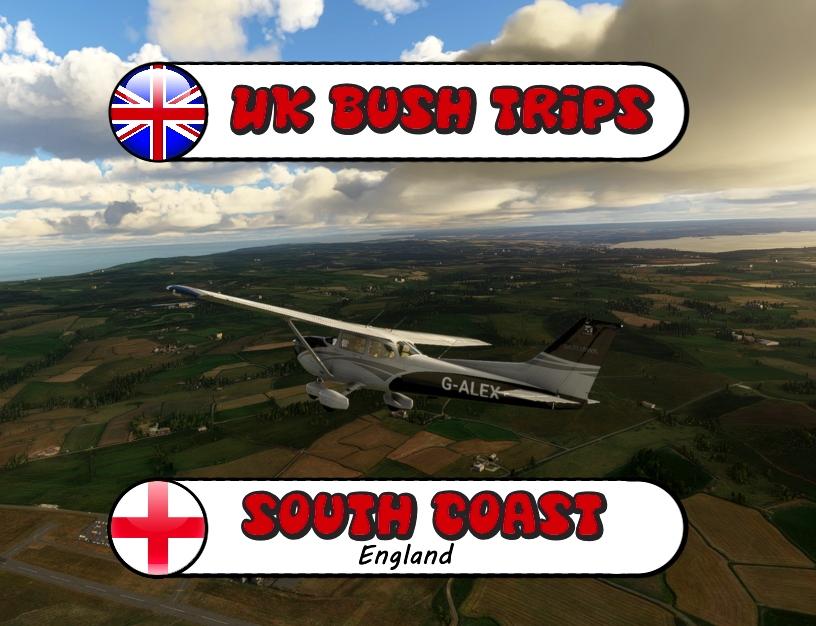 UK South Coast Bush Trip. (Eastbound) Flight Simulator 2020