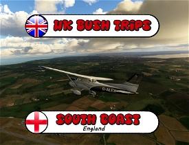 UK South Coast Bush Trip. (Eastbound) Image Flight Simulator 2020