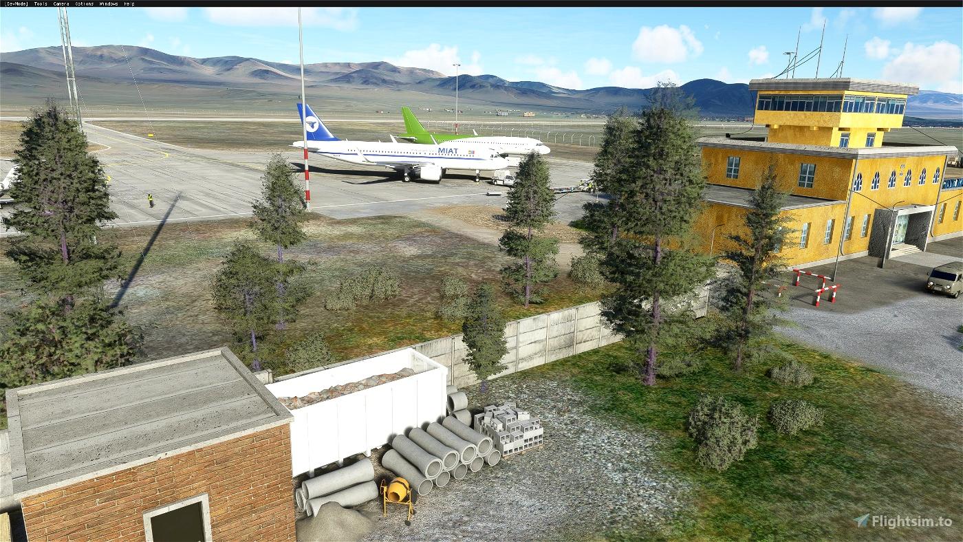 Ölgii Airport ZMUL (Mongolia) v1.1