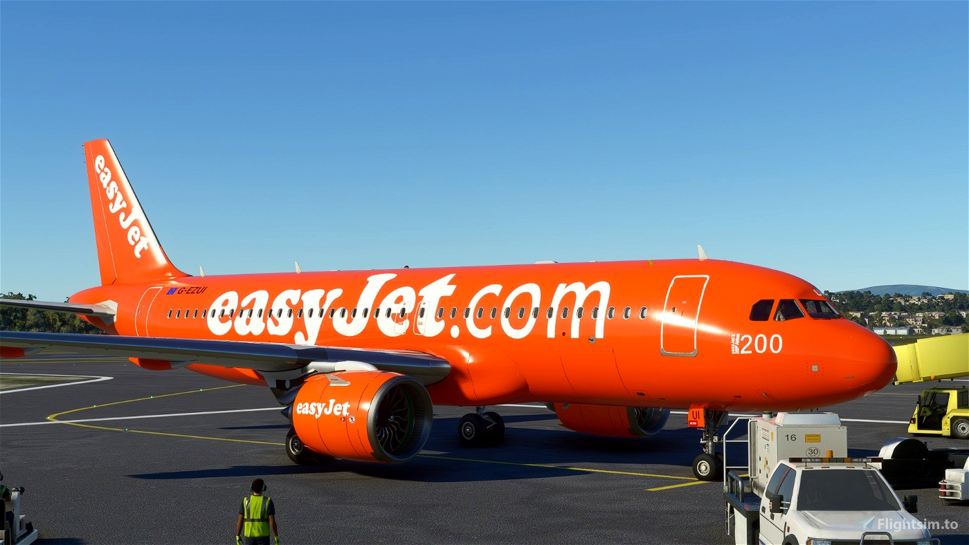 A320 NEO EasyJet 200th Flight Simulator 2020