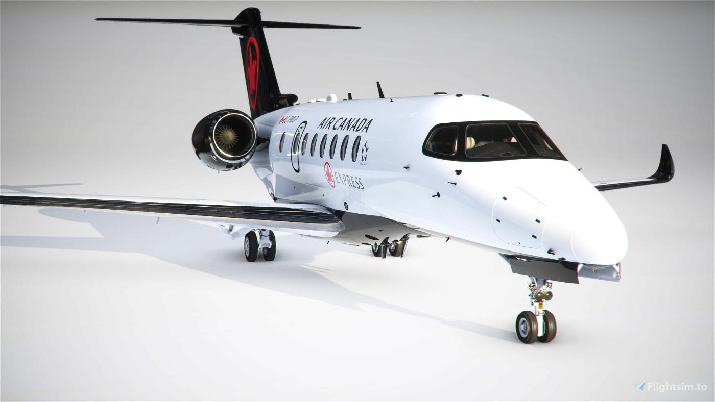 Citation Longitude Air Canada Express Flight Simulator 2020