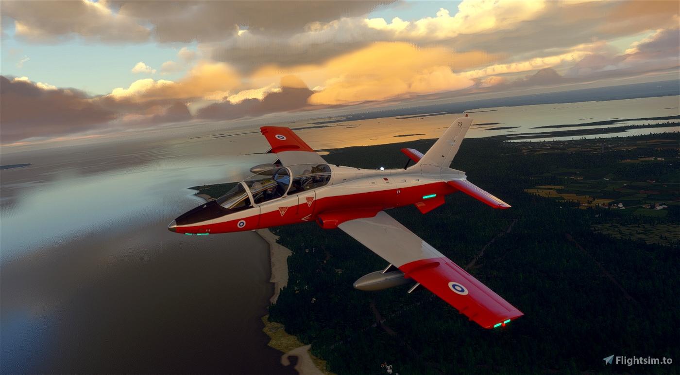 MB-339PAN Finnish Air Force HW-373 Flight Simulator 2020