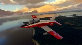 MB-339PAN Finnish Air Force HW-373 Image Flight Simulator 2020