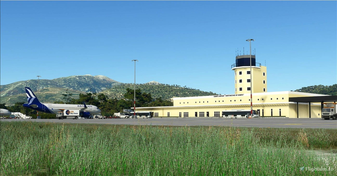 LGSM - Samos Aristarchos Int'l Airport Flight Simulator 2020