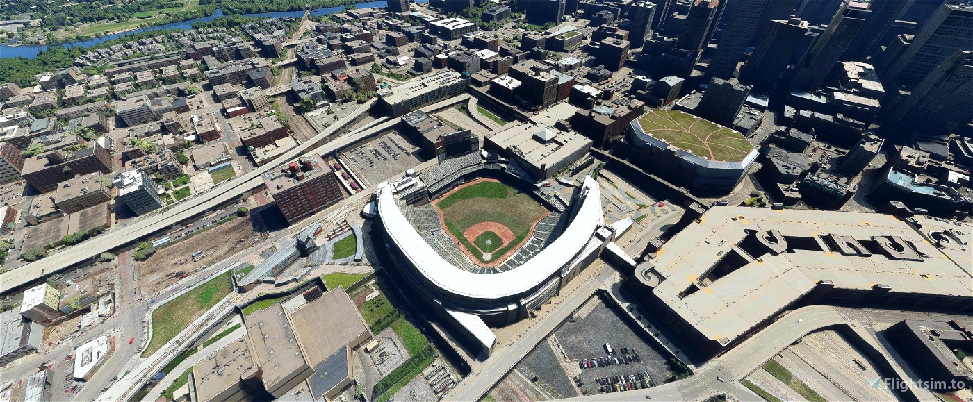 Target Field, Minneapolis MN USA Flight Simulator 2020