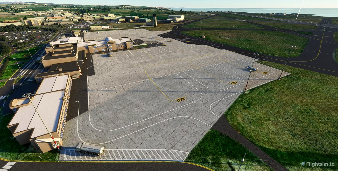 EGNS - Ronaldsway Airport - Isle of Man - Upgrade