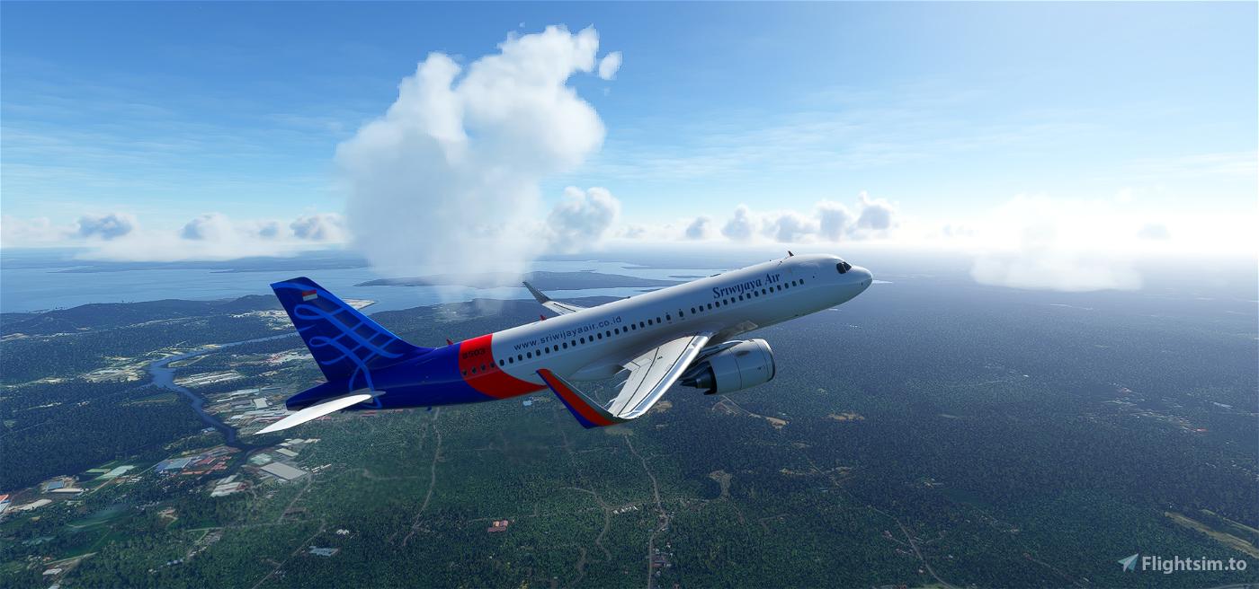 Sriwijaya Airlines Flight Simulator 2020