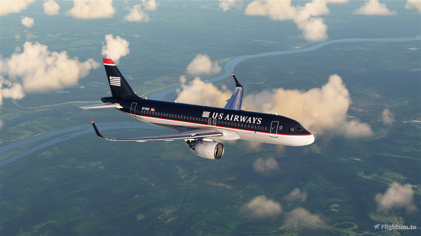 US Airways A320Neo (Old Colors)