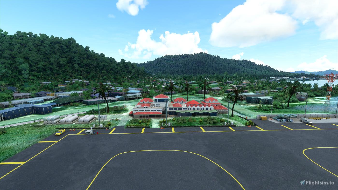 PTKK-Chuuk International Airport /Truk Island) Micronesia Flight Simulator 2020