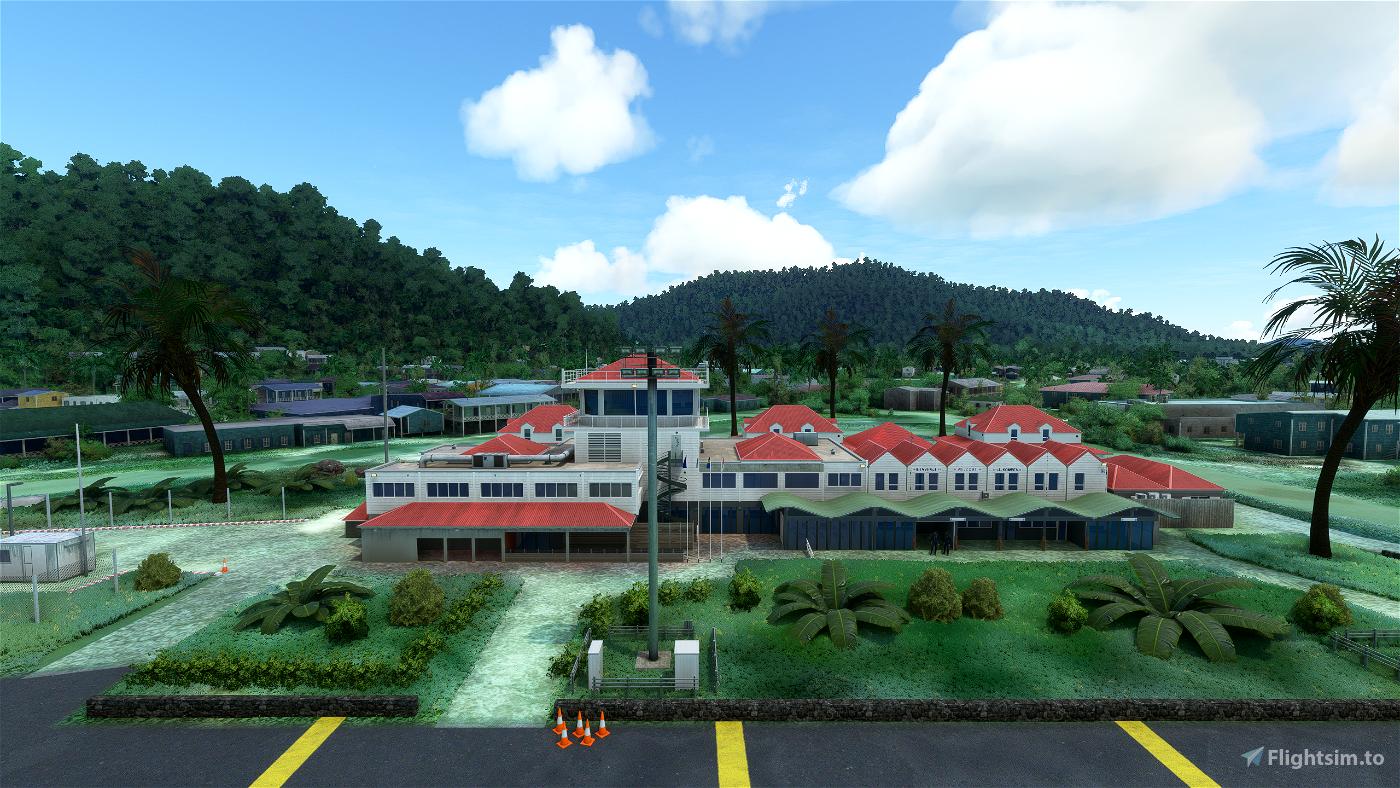 PTKK-Chuuk International Airport /Truk Island) Micronesia