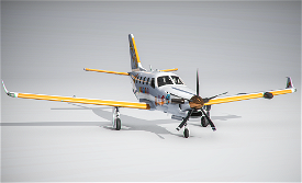 TBM 930 Air Pacman Trimmed Image Flight Simulator 2020