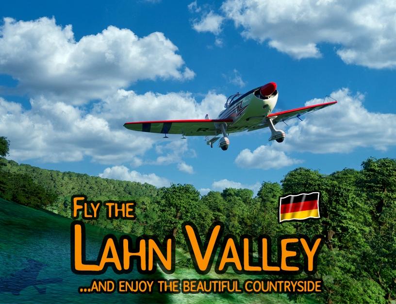 Lahn Valley - River bushtrip (DE,EN,ES,FR,IT,PL,PT,RU) Flight Simulator 2020
