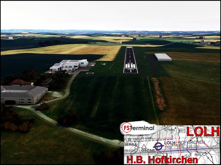 LOLH Flugplatz H.B. Hofkirchen Flight Simulator 2020