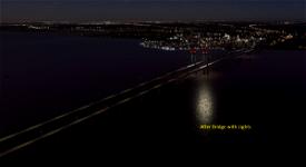 Delaware Memorial Bridge Image Flight Simulator 2020