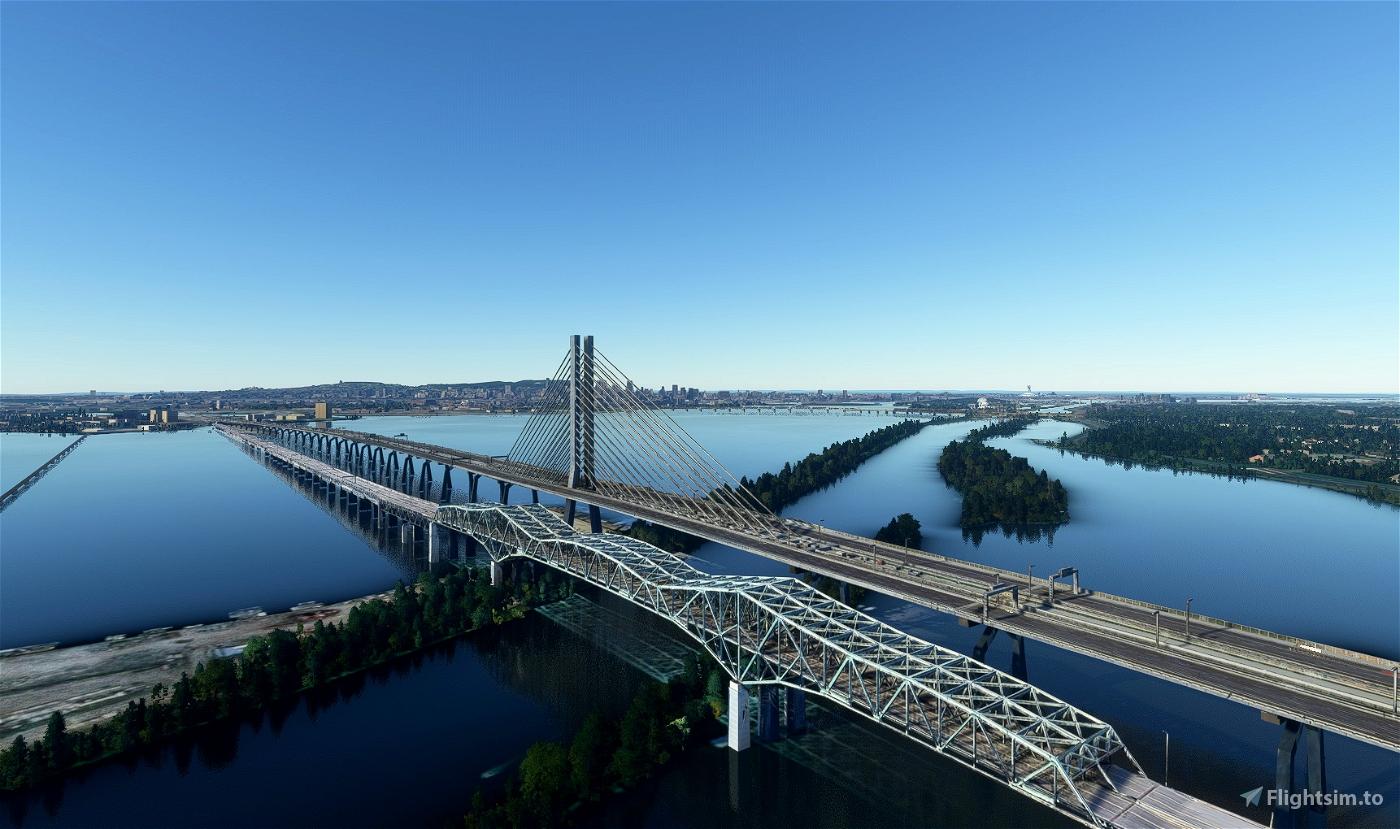 The old Champlain bridge