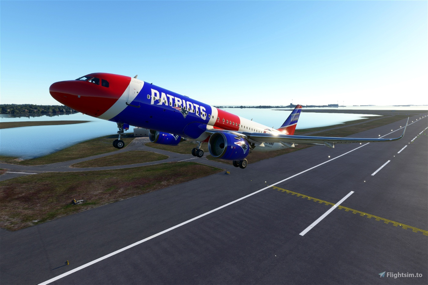 New England Patriots Flight Simulator 2020