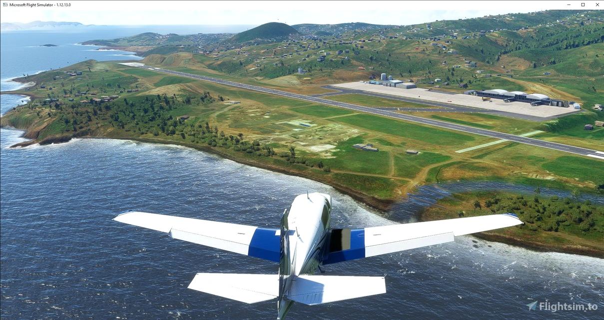 Saint Vincent and the Grenadines Argyle Intl airport TVSA Flight Simulator 2020