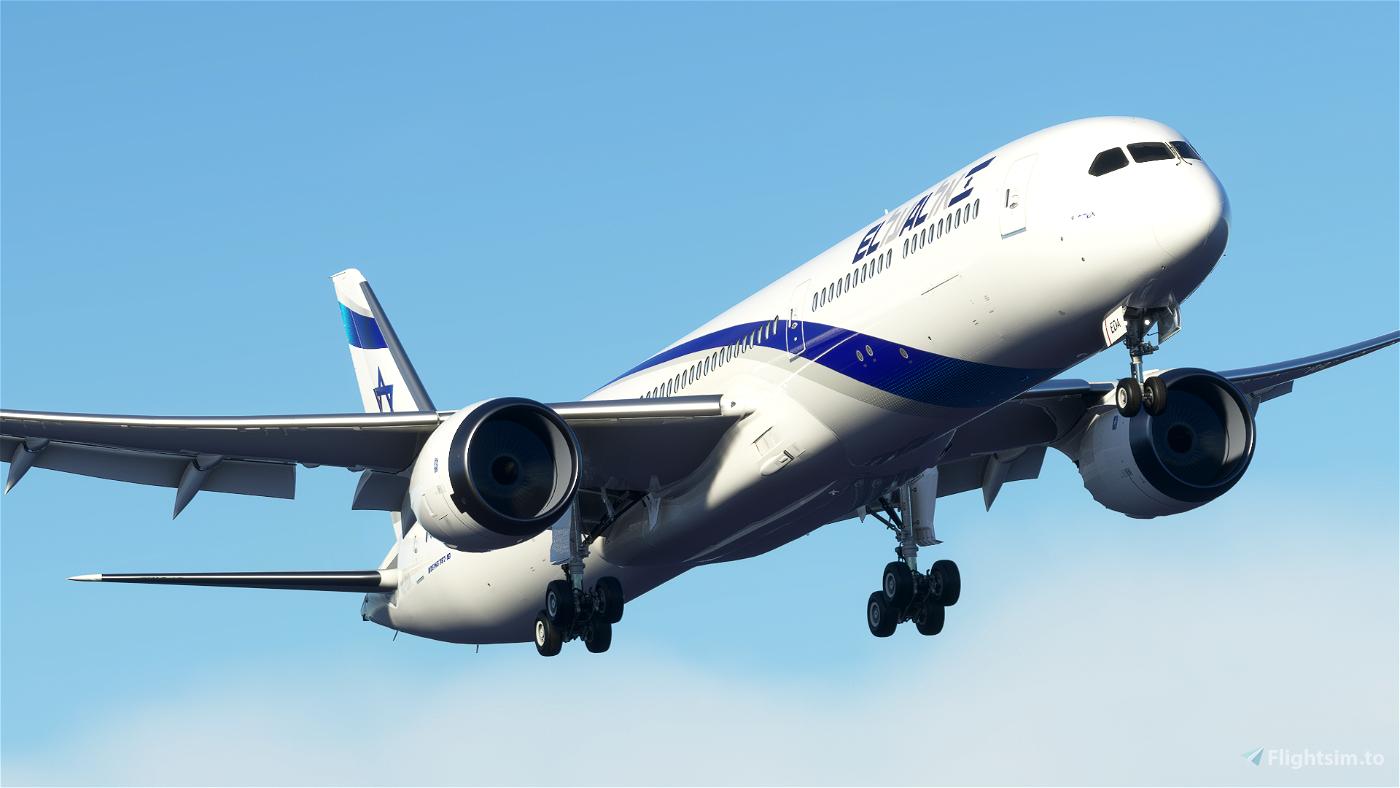 El AL Israel B787-10 [4K] 4X-EDA