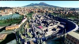 Archeological site of Herculaneum  Image Flight Simulator 2020